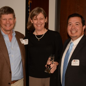 ACDL Executive Director J.J. Rico with 20th Anniversary event attendees